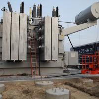 SPX Transformer Solutions wrapped up the transformer installation in April 2017.