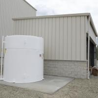 Stores Warehouse - Transformer Oil Storage Building & Tank