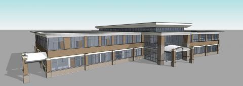 rendering of building 2